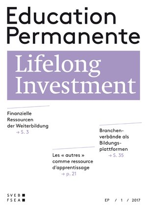 "Education Permanente ""Lifelong Investment"""